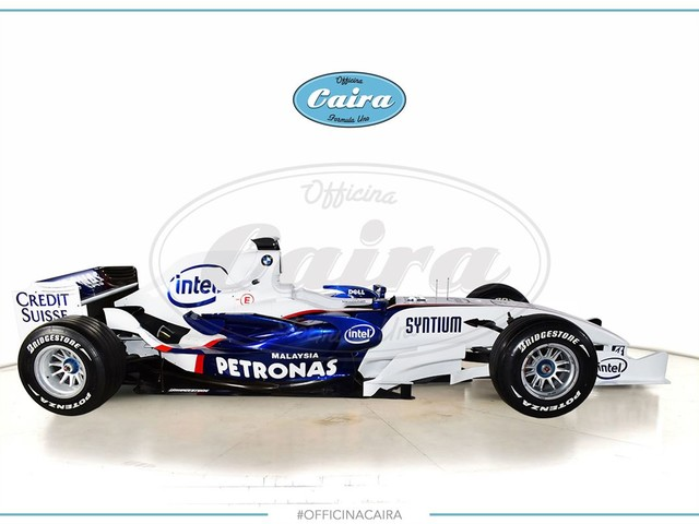 You Can Now Buy a BMW-Sauber Formula 1 Car
