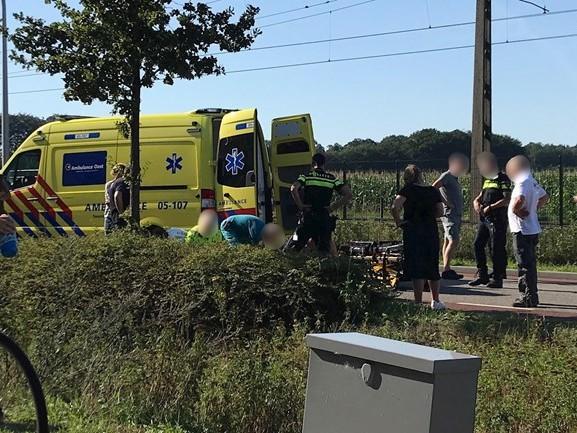 Motorrijder gewond na val in Holten