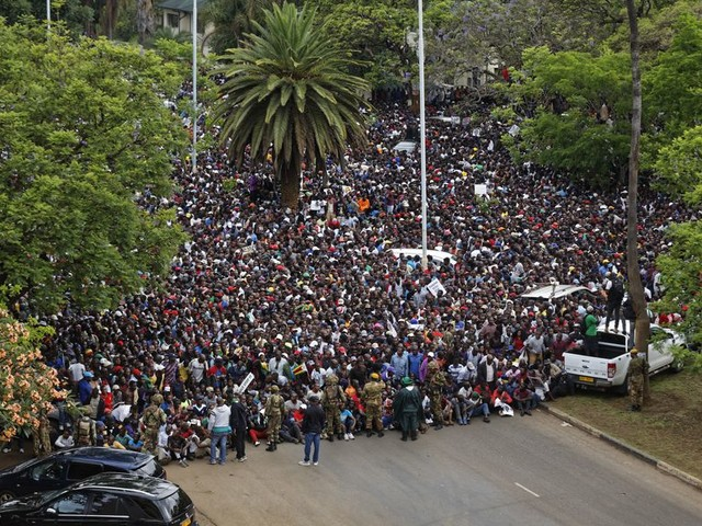 Nu voelen de Zimbabwanen zich verlost van Mugabe