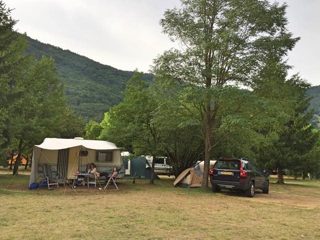 Gratis tent voor beginnende kampeerders