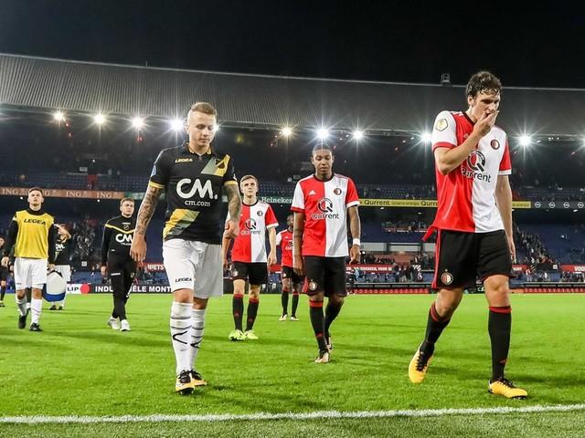 Aangeslagen Feyenoord naar Champions League