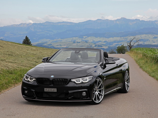 BMW 440i Convertible Looks Menacing Wearing Dahler Tuning Parts