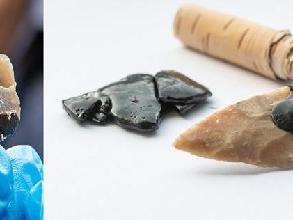Bijzondere vondst bij Den Haag: oermens kon lijm brouwen, uit berkenpek