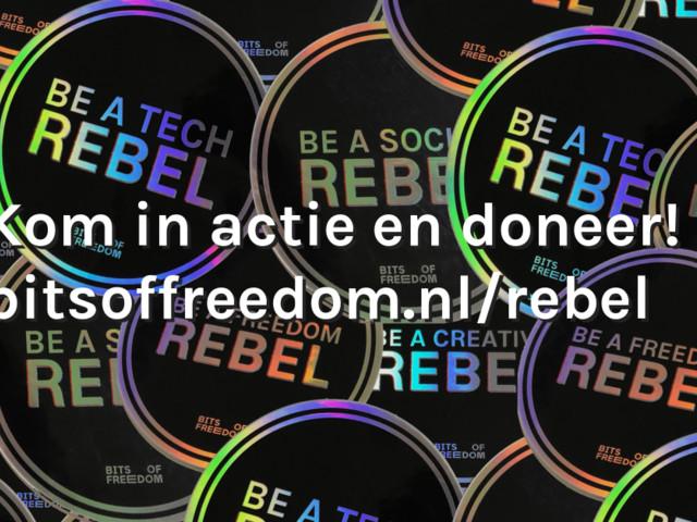 Wij zoeken rebellen. En jij kunt ons helpen.