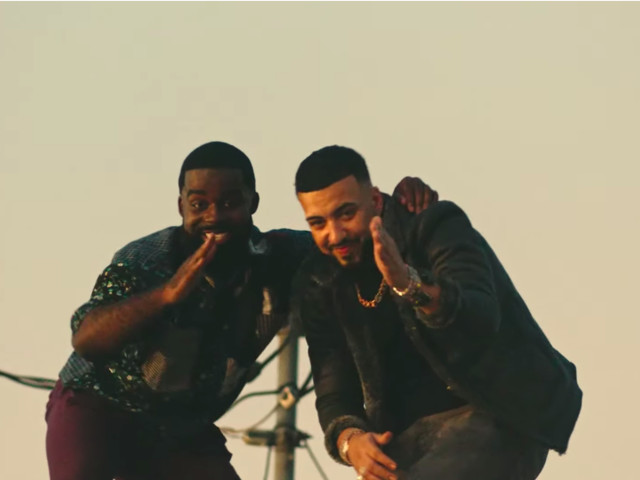 """French Montana Joins Afro B In New Video for """"Joanna (Drogba)"""""""