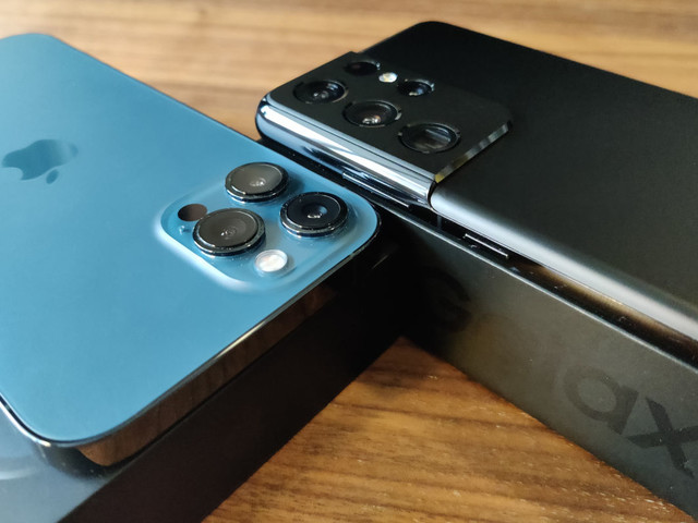 Camera shootout: iPhone 12 Pro Max vs Samsung Galaxy S21 Ultra