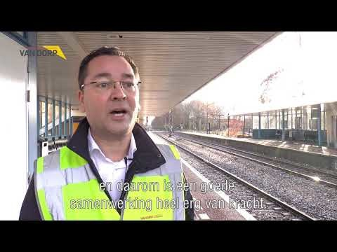 Led-verlichting voor perrons NS Stations