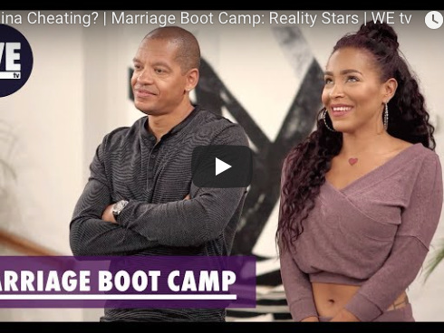 "Exclusive Clip: ""Marriage Boot Camp"" Is Amina Cheating On Peter Gunz?"