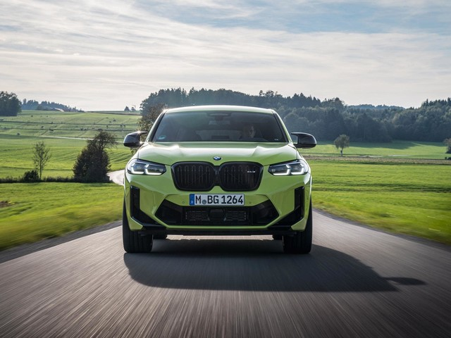 2022 BMW X4 M Competition in Sao Paulo Yellow: Too Bold Or Just Right?