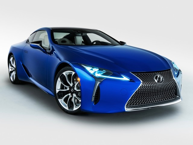 Lexus LC convertible is reportedly two years away