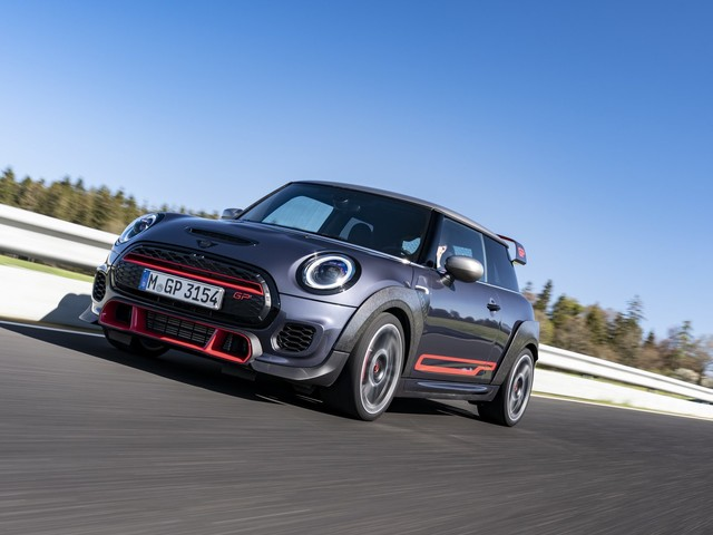 Video: Check out the MINI JCW GP lapping the Ring in 8:03.86