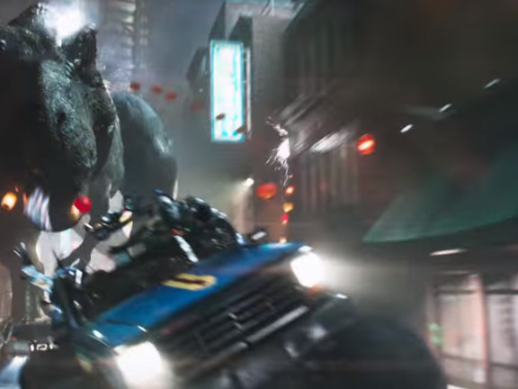 New Trailer For Ready Player One Packs A Punch...And A T-Rex. Artemis Does Have Her Wine-Port Stain