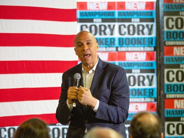 Democratische kandidaat Cory Booker gelooft nog in een eensgezind Amerika