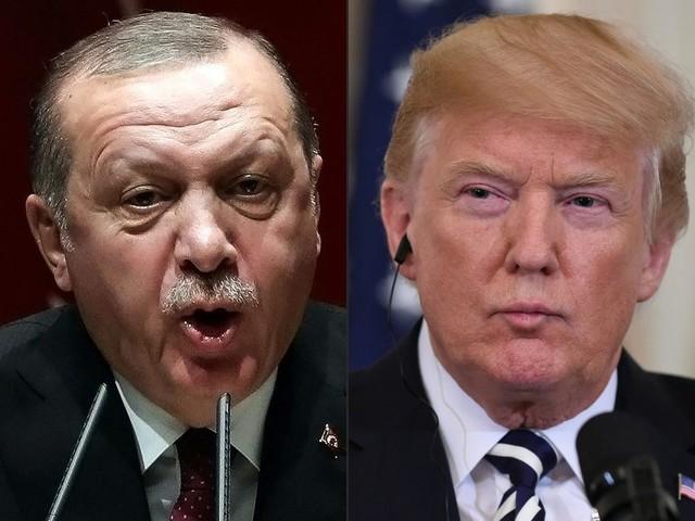 Trump tegen Turkije: Val de Koerden aan en je economie ligt in duigen