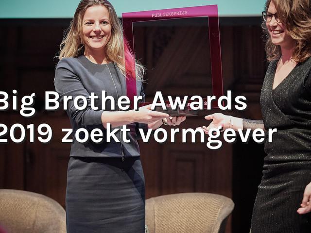 Big Brother Awards 2019 zoekt vormgever!
