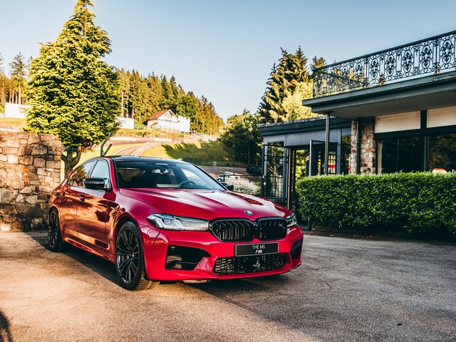 Real Life Photos: 2021 BMW M5 Facelift in Imola Red