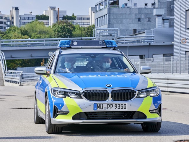 Bavarians Police gets the new BMW 3 Series Touring generation