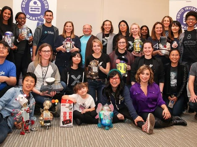 Facebook, Fitbit, Industrial Light & Magic, Instagram, Twitter, Google and Lucasfilm Join Forces With littleBits to Inspire the Next Generation of Inventors at Droidathon
