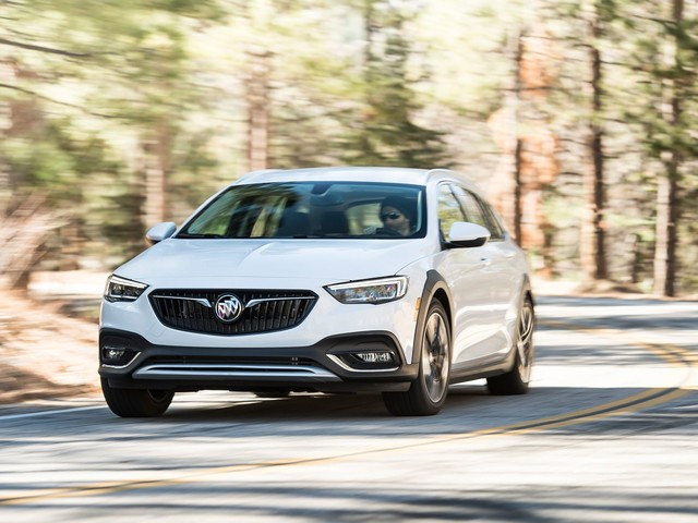 2018 Buick Regal TourX – Instrumented Test
