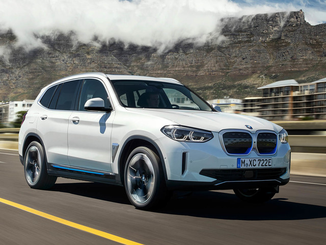 How does the new BMW iX3 stack up against rivals from Audi, Mercedes?