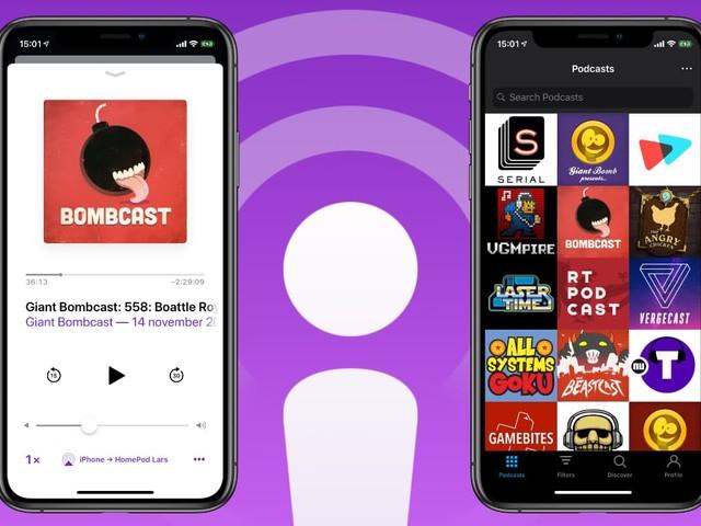 Podcasts luisteren met je iPhone: dit zijn de beste 4 apps
