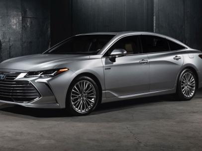 TNGA-based 2019 Toyota Avalon features new hybrid system