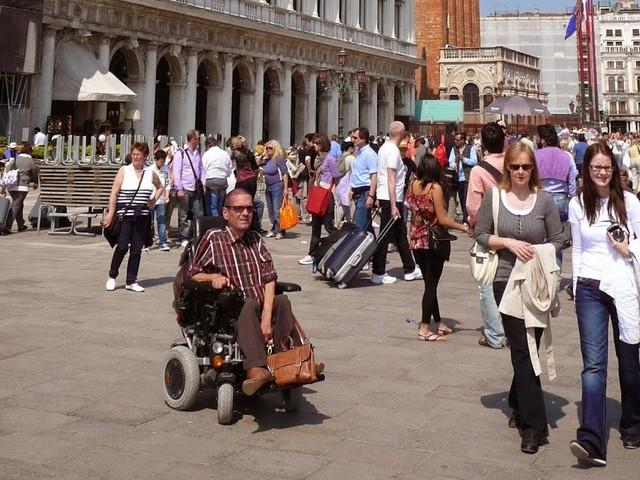 Venetië, rolstoeltoegankelijk