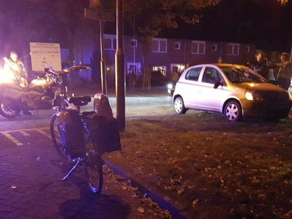 Automobilist die fietsster aanreed heeft gedronken: rijbewijs ingevorderd