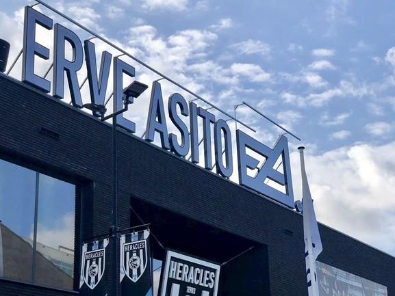 Dit is de nieuwe naam van het stadion van Heracles Almelo
