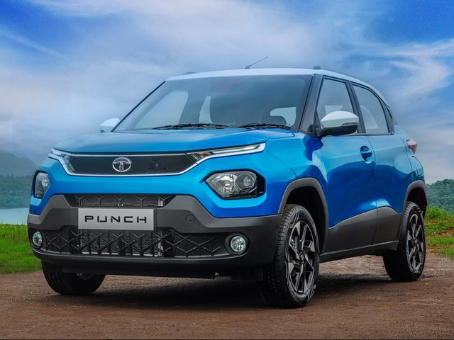 Tata Punch Interior Spied In Full