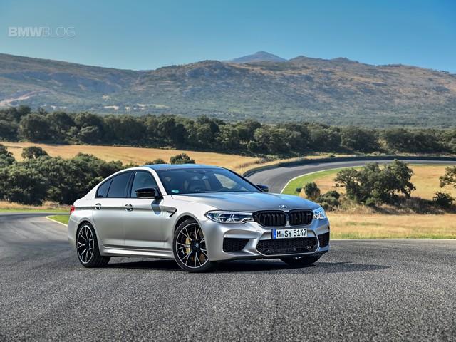 Video: BMW M5 Competition vs Audi RS7 on Hockenheim Track