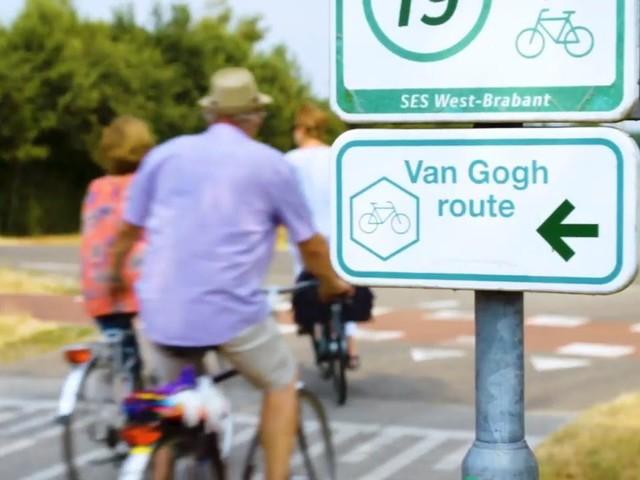 Van Gogh fietsroute in Brabant wordt 100 kilometer langer