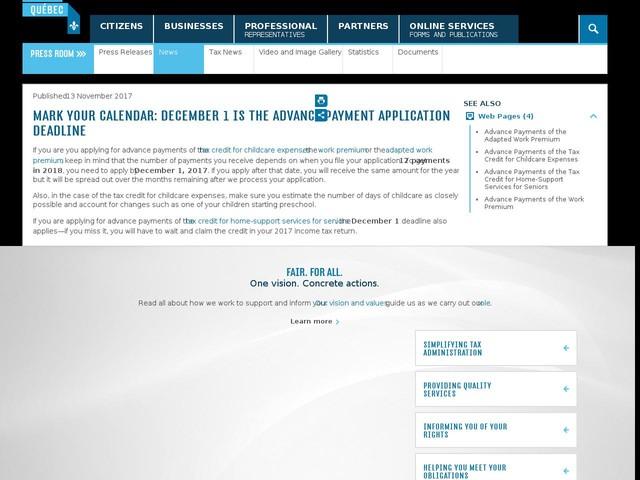 Mark Your Calendar: December 1 is the Advance Payment Application Deadline