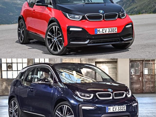 Photo Comparison: BMW i3 vs BMW i3S