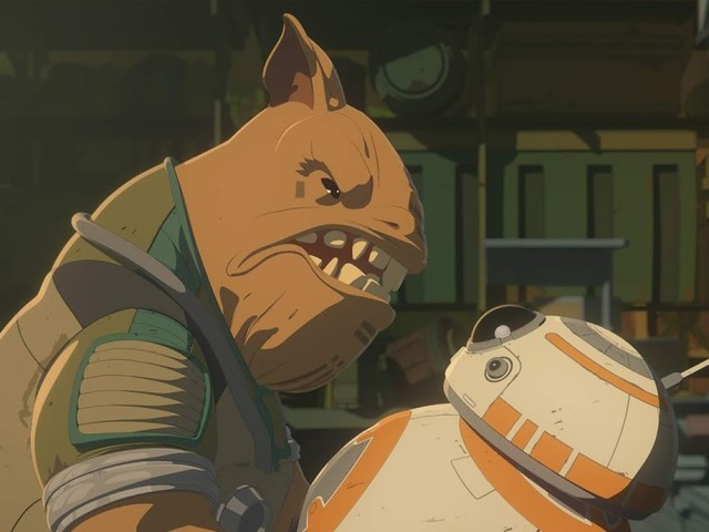 We Have A New Video and Images for the next episode of Star Wars Resistance