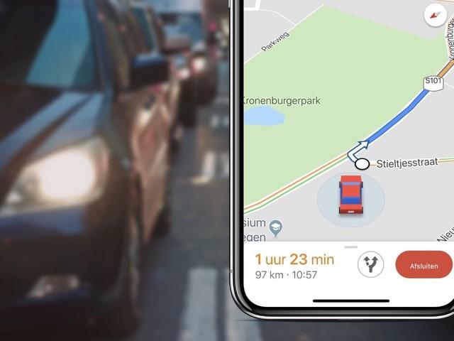Tip: Zo verander je het Google Maps-pijltje in een 3D-auto