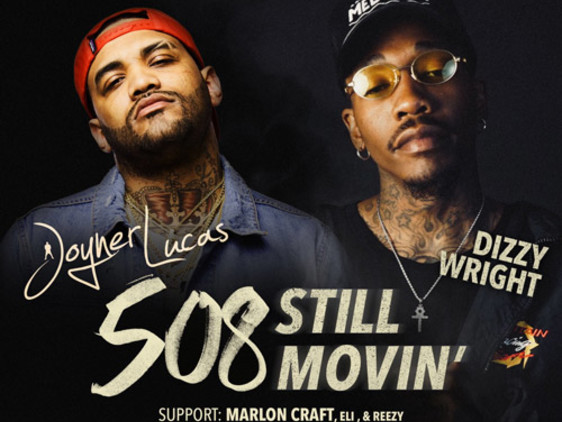 Joyner Lucas & Dizzy Wright Announce '508 Still Movin' Tour