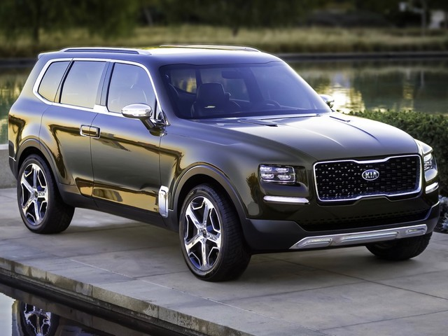 Kia Telluride concept may be headed to production