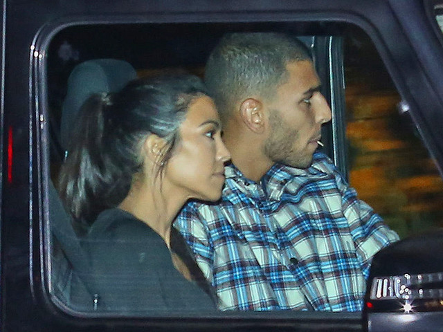 Kourtney And Younes Are Inseparable!