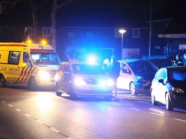 Bestuurster naar ziekenhuis na aanrichten schade in Rijssen