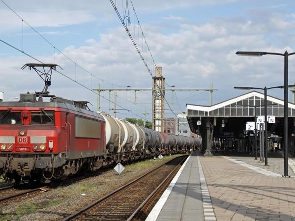 Forse afname van wagons met gevaarlijke stoffen over spoor in Oost-Nederland