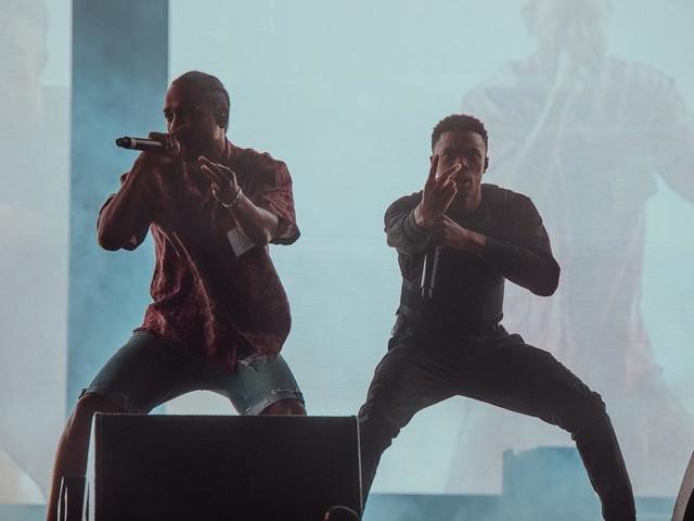 Vince Staples & Kendrick Lamar Perform At Coachella 2018
