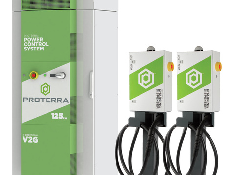 Proterra introduces multi-dispenser charging solution for heavy-duty electric vehicle fleets