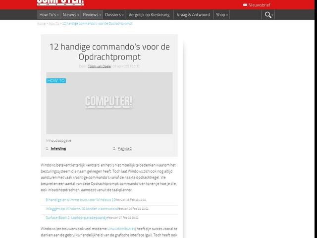 12 handige commando's voor de Opdrachtprompt
