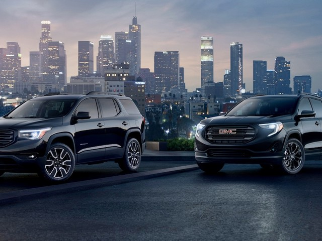 2019 GMC Terrain and Acadia Black Editions unveiled