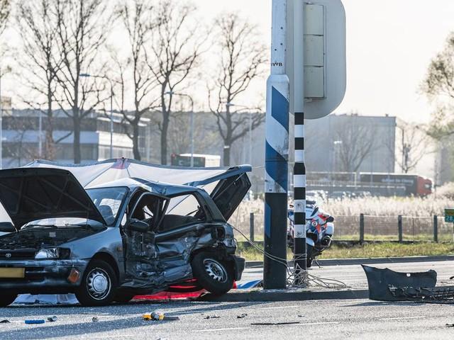 Dode (68) bij botsing in Tilburg