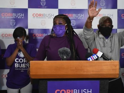 Clap For Her: Ferguson Activist Cori Bush Ousts 20-Year Incumbent In Missouri Primary, Likely To Become First Black Woman To Win Congressional Rep. Seat
