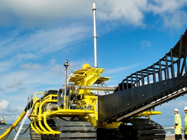 Boskalis worstelt met opdrachten van windindustrie