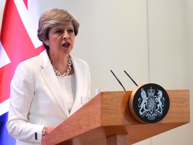 May wil overgangsfase van 2 jaar na brexit
