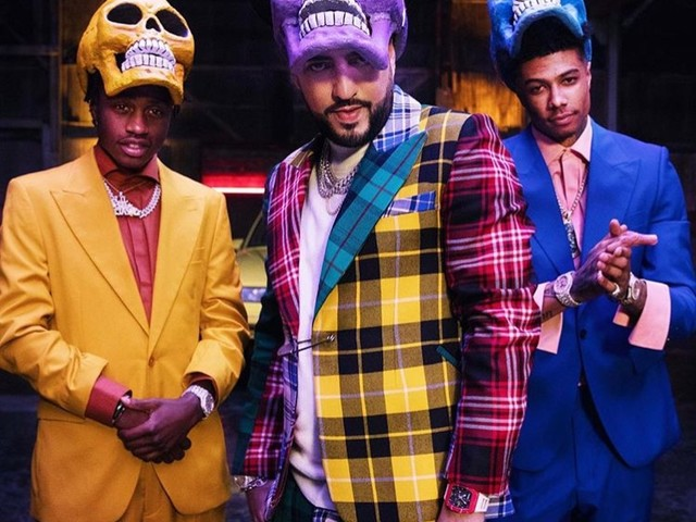 """French Montana Feat. Blueface & Lil' Tjay """"Slide"""" Video"""